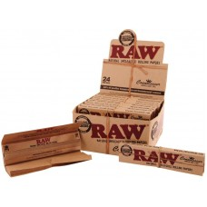 RAW CONNOISSEUR KING SIZE SLIM (BOX 24/32 LEAVES +TIPS)